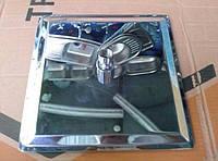 Лейка потолочная латунная хромированная 200х200мм.
