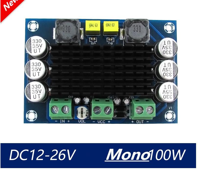 Аудіо підсилювач XH-M542 на чіпі TPA3116D2 потужність 2х100 W