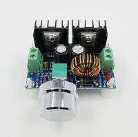 Регулятор напряжения XH-M401 DC-DC с переменным резистором на модуле XL4016, фото 1