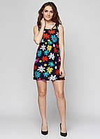 Летнее женское платье в крупные цветы СС6342-44