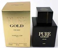 Мужская парфюмерная вода Pure Gold  Geparlys  Karen Low