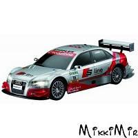 Audi A4 DTM, радиоуправляемая модель, м 1:16, Race-Tin, Auldey, Серый