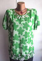 Роскошная Блуза от Liberty Размер: 58-XXL, XXXL