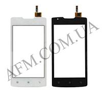 Сенсор (Touch screen) Lenovo A1000 IdeaPhone черный оригинал