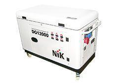 Трехфазный дизельный генератор NIK DG12000 (Автозапуск) (10 кВт)