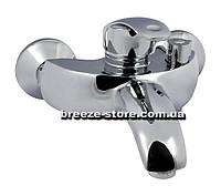 Смеситель для ванны Haiba Mars 009 (Настенный EURO) Латунь