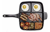 Кухонная сковорода с 5 секциями Magic Pan Меджик Пен