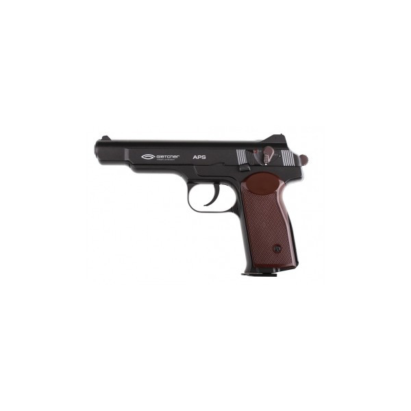 Пистолет пневматический газобаллонный GLETCHER АПС ( Стечкина)
