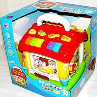 Детский музыкальный домик 9149