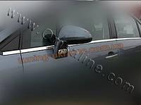 Нижние молдинги стекол Omsa на Citroen C5 2008-2015 седан