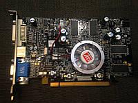 ВИДЕОКАРТА Pci-E  Radeon X600 PRO на 256 MB с ГАРАНТИЕЙ ( видеоадаптер x 600 256mb 128bit )