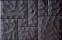 Форма для изготовления плитки Блок дорожный №5 75х50х8