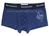 Мужские трусы боксёры Abercrombie&Fitch синие