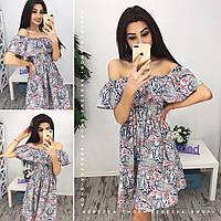Платье летнее  из хлопка 0541