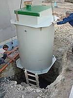 """Станция очистки бытовых сточных вод """"OA3ИC""""."""