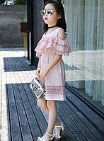 Стильне, мереживне, літнє плаття