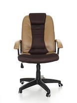 Офисное кресло EKO 7410 кожа сетка 4 цвета, фото 3