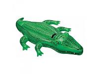 """Детский надувной плотик """"Крокодил"""""""