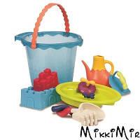 Набір для гри з піском і водою - МЕГА-ВІДЕРЦЕ МОРЕ (9 предметів) Battat