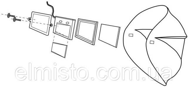 Схематическое устройства сварочной маски Сириус С 850