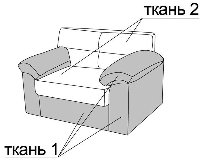 Кресло Шерлок матролюкс купить за 3463 грн.
