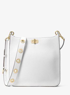Сумка Michael Kors Sullivan Large Leather Messenger white 30H6GUPM3L