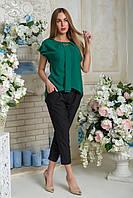 Блузка Эвелина зелёный