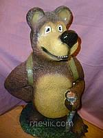 Декоративная статуэтка в сад Медведь 61 сантиметр высота