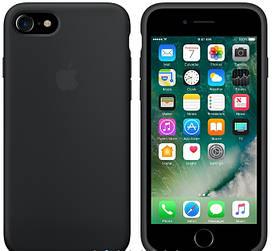 Силиконовый чехол Apple Silicone Case (MMWF2FE/A) для Iphone 7 (Gray | Серый) Copy