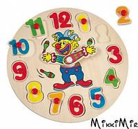 Часы-пазл с клоуном, Bino