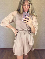 Женское Платье эксклюзив с поясом