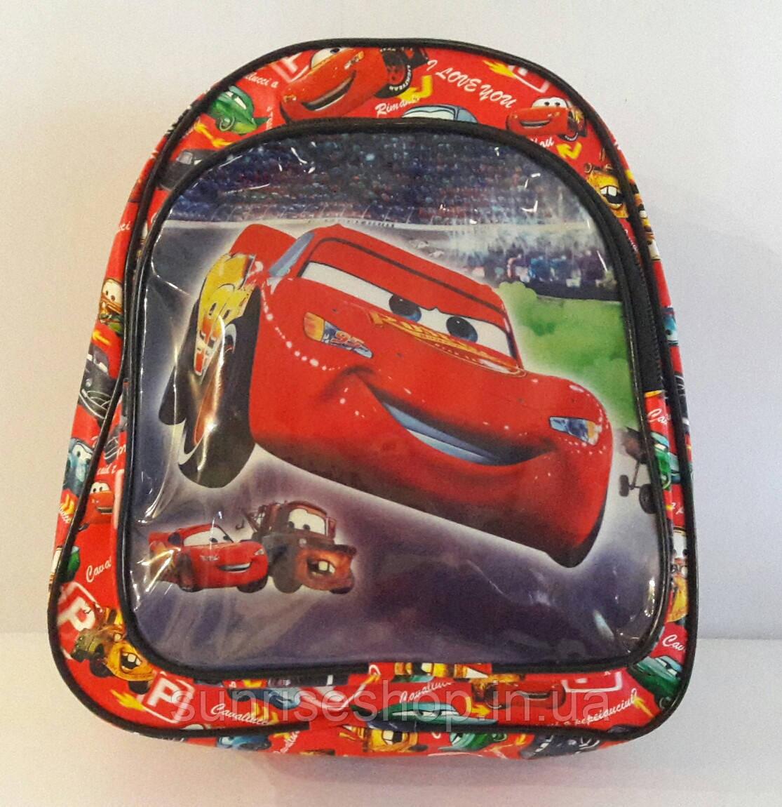 """Рюкзак для мальчика """"Тачки"""""""