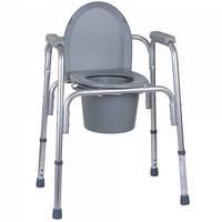 Алюминиевый стул-туалет 3 в 1 OSD-BL730200, стул для ванной и душа