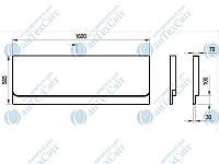 Панель RAVAK Chrome 160 CZ73100A00