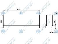 Панель RAVAK Chrome 150 CZ72100A00