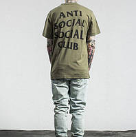 Футболка Anti Social Social club logo three