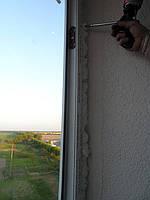 """Остекление и обустройство балкона ЖК """"Олимпийский"""" (г. Бровары) 13,18 м2 7"""