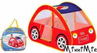 Игрушка-палатка Машинка, ESSA, Красный
