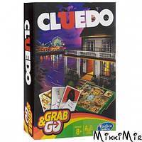 Настольная игра Cluedo Дорожная версия, Hasbro Gaming