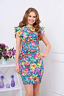 Летнее платье с цветочным принтом Лима 10 Arizzo 44-50  размеры