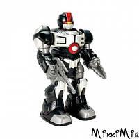 Робот M.A.P.S Кібер-Бот на бат. 4 ас. Hap-p-kid, черный, Черный