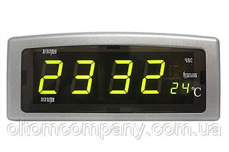 Часы настольные электронные GAIXING-818 зеленые
