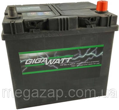 Аккумуляторная батарея ASIA ПРАВ [+] 12V 60AH 510A GIGAWATT 0185756012