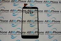 Сенсорный экран для мобильного телефона Alcatel One Touch Idol 2 6037 черный