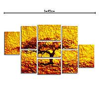 Модульные картины на холсте с принтом Осень