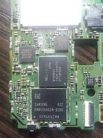 Микросхема памяти Samsung KMN5X000ZM-B209 На плате Описание