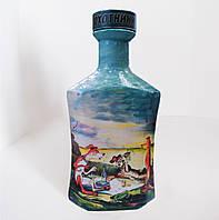 """Подарочная бутылка """"Охотники на привале"""", сувенир подарок для мужчины охотника, , фото 1"""