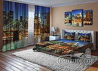 """ФотоКомплект для спальни """"Манхэттенский мост"""""""