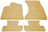 Резиновые коврики в салон Audi Q5 I (8R) 2008-2016 (STINGRAY)