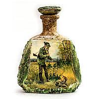 Сувенирная бутылка в подарок мужчине охотнику Ручная работа